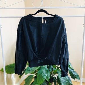 Free People Front Tie Top